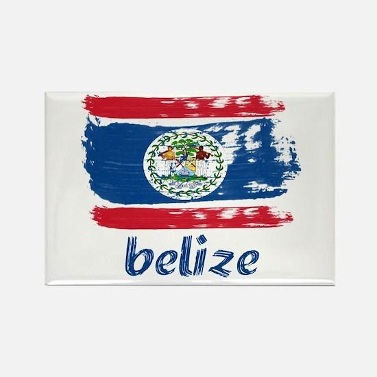 Belize Rectangle Magnet