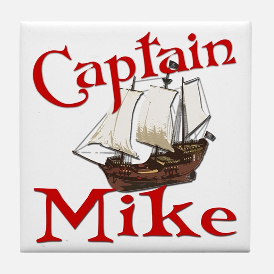 Captain Mike Tile Coaster