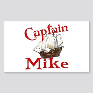 Captain Mike Sticker (Rectangle)