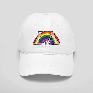 Rainbow Under Los Angeles Cap