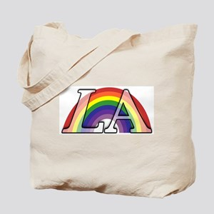 Rainbow Under Los Angeles Tote Bag