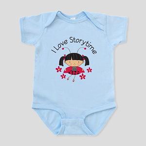 I Love Storytime Reading Infant Bodysuit