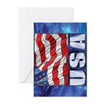 USA! Greeting Cards (Pk of 10)