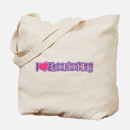 I love Cheer Tote Bag