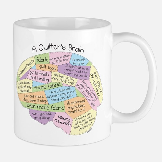 Quilter's Brain Mug