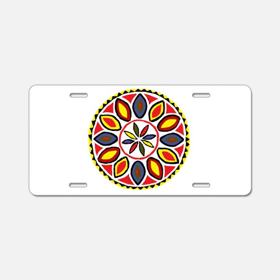 Daddy Hex Aluminum License Plate