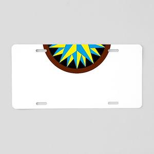 Penn-Dutch - Triple Star He Aluminum License Plate