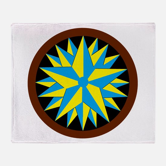 Penn-Dutch - Triple Star Hex Throw Blanket