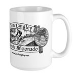 15 Oz Ceramic Large Mug Jim Langley Bicycle Mugs