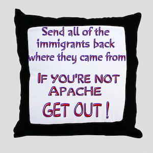 Not Apache ? Throw Pillow