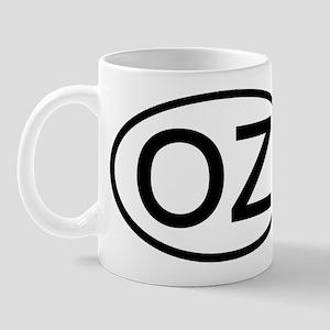 OZ - Initial Oval Mug