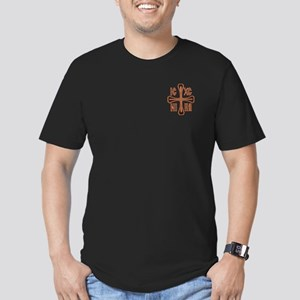 Nika - Jesus Christ Conquers Men's Fitted T-Shirt