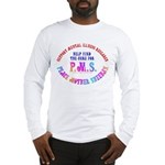 Anti-Cindy Sheehan Long Sleeve T-Shirt