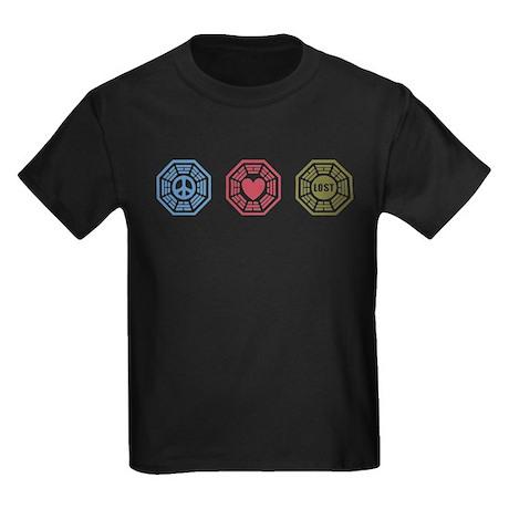 Peace Love Lost [dh_i] Kids Dark T-Shirt