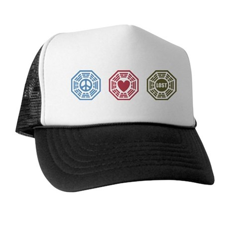 Peace Love Lost [dh_i] Trucker Hat