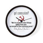 Got Communism? Hillary Wall Clock