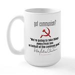 Got Communism? Hillary Large Mug