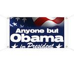 Anyone But Obama Banner