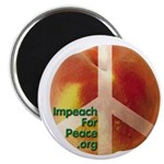 """Impeach For Peace 2.25"""" Magnet (100 pack)"""