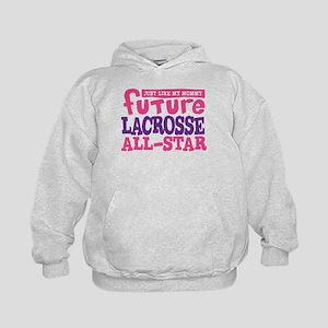 Lacrosse Future All Star Girl Kids Hoodie