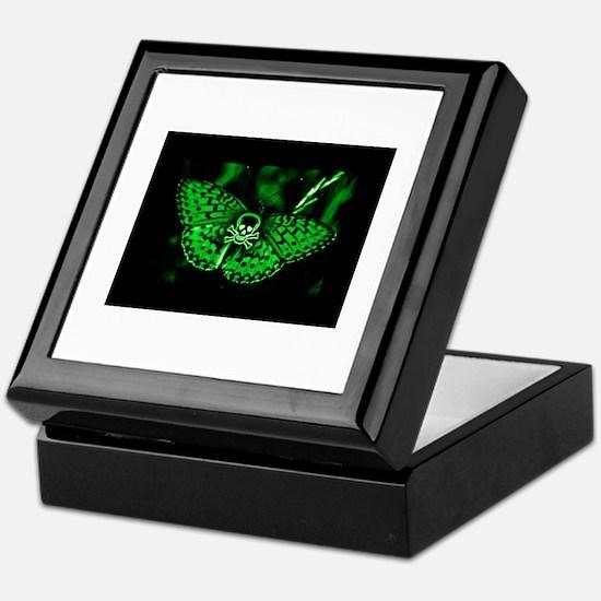 Toxic Butterfly Keepsake Box