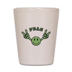 Peas Shot Glass