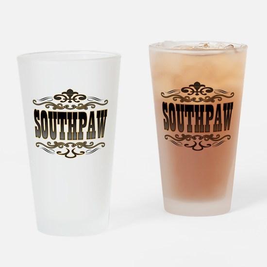 Southpaw Swirl Drinking Glass