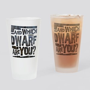 And Which Dwarf Are You? Pint Glass