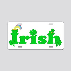 Irish Aluminum License Plate
