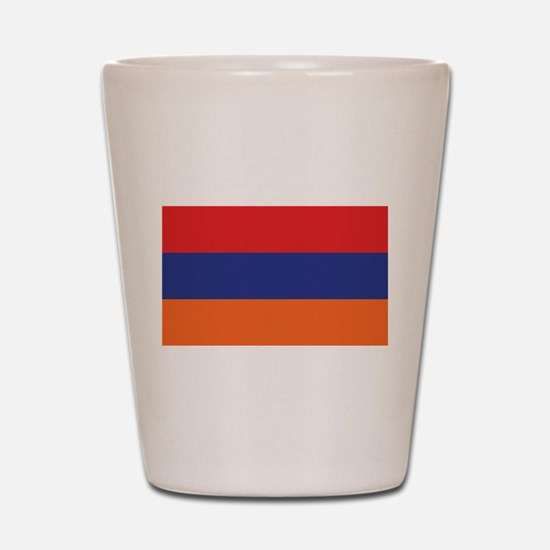 Flag of Armenia Shot Glass
