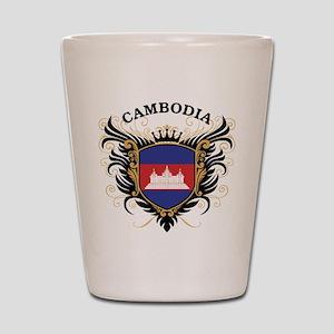 Cambodia Shot Glass