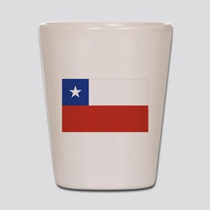 Flag of Chile Shot Glass