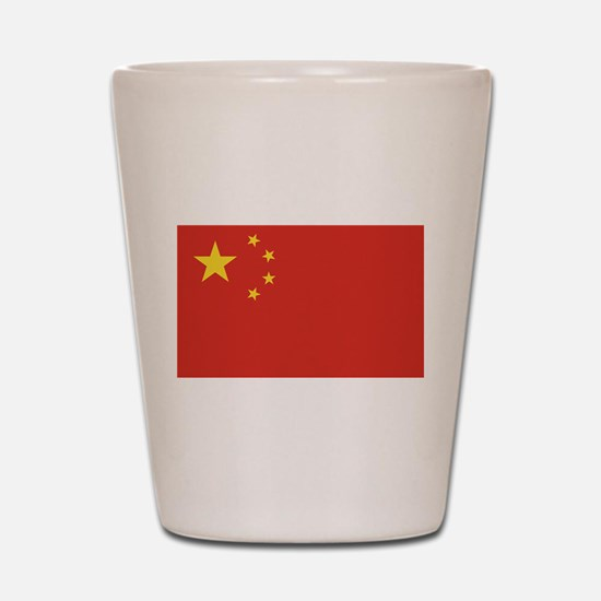 Flag of China Shot Glass