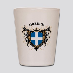 Greece Shot Glass