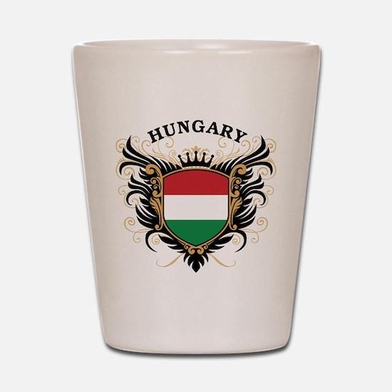 Hungary Shot Glass