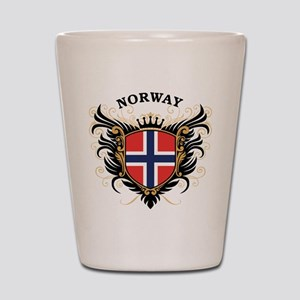 Norway Shot Glass