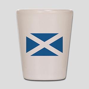Flag of Scotland Shot Glass