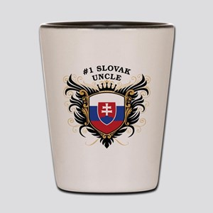 Number One Slovak Uncle Shot Glass