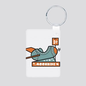 Moonride Aluminum Photo Keychain