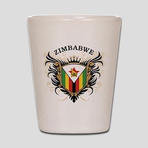 Zimbabwe Shot Glass