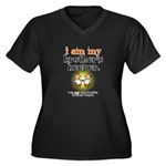BROTHER'S KEEPER Women's Plus Size V-Neck Dark T-S