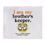 BROTHER'S KEEPER Throw Blanket