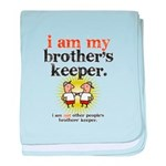 BROTHER'S KEEPER baby blanket