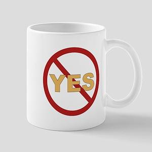 No Yes Mug