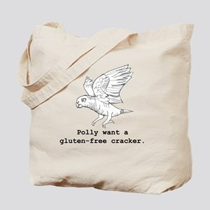 Polly Want a Gluten-Free Cracker Tote Bag