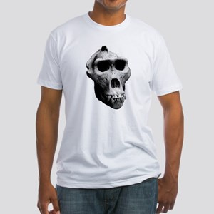 Lowland Gorilla Skull Fitted T-Shirt