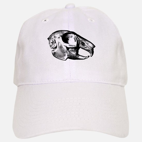 Rabbit Skull Baseball Baseball Cap