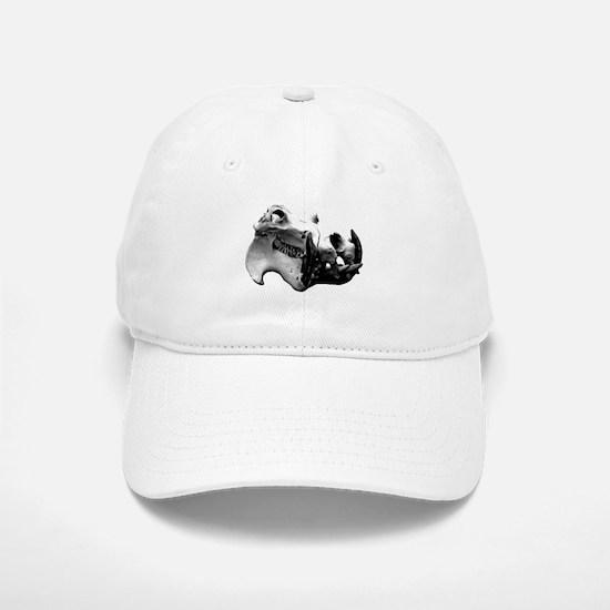 Hippopotamus Skull Baseball Baseball Cap