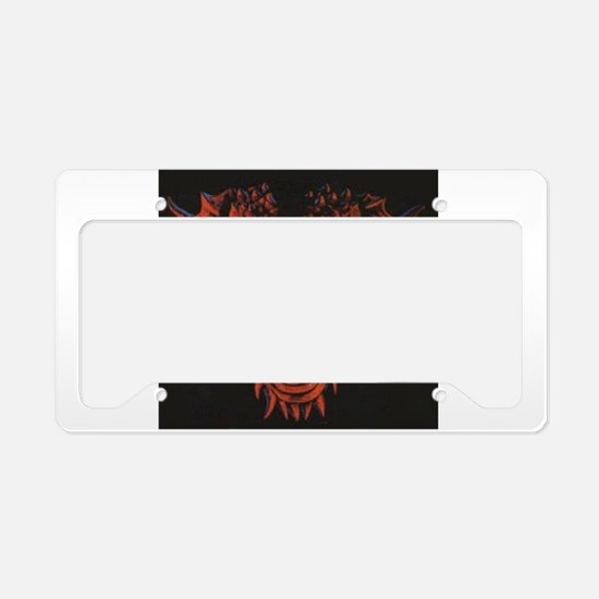 Cool Dragons License Plate Holder
