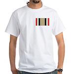 Iraq Campaign White T-Shirt